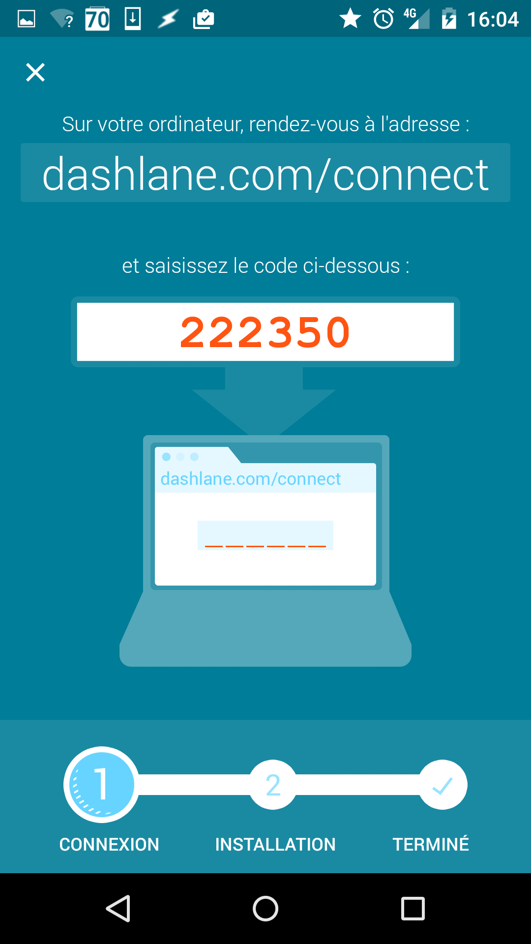 dashlane_connect_code