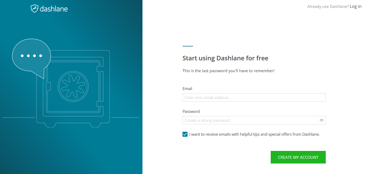 Getting started with Dashlane for Linux and Chromebook