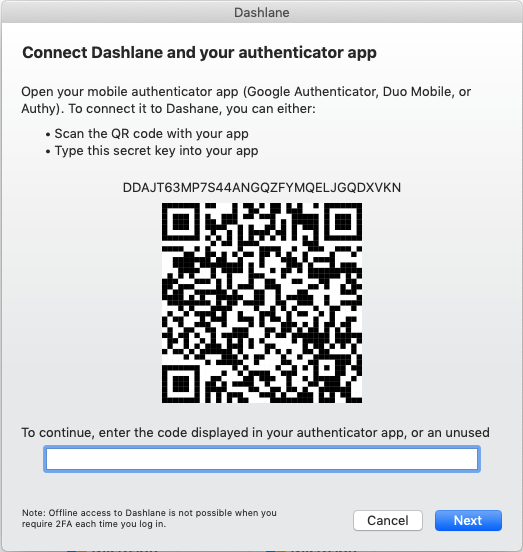 Schutz Ihres Kontos durch Zwei-Faktor-Authentifizierung
