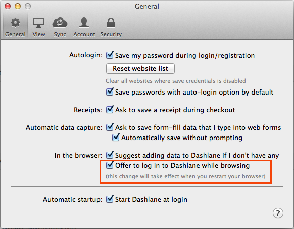How to quickly sign in to Dashlane directly from your browser – Dashlane