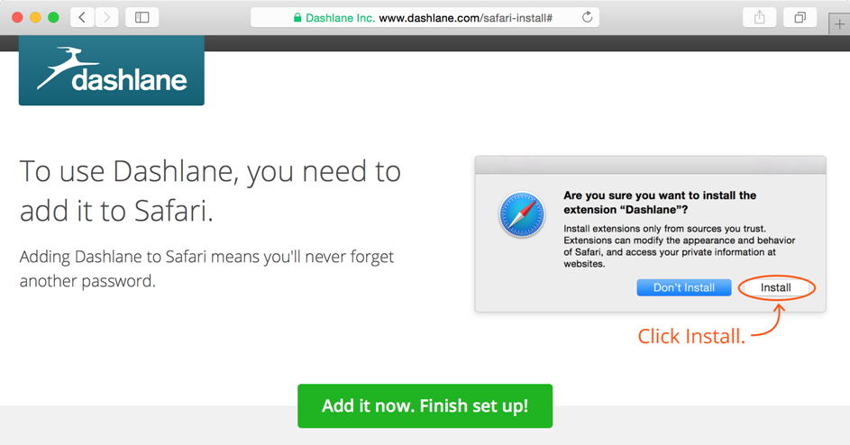 How to install Dashlane from the Mac App Store – Dashlane