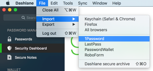dashlane import roboform