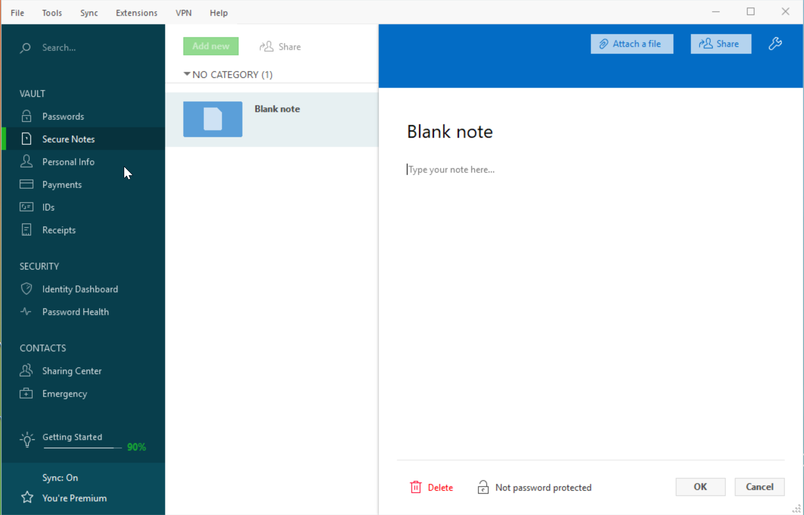 What are secure notes? – Dashlane