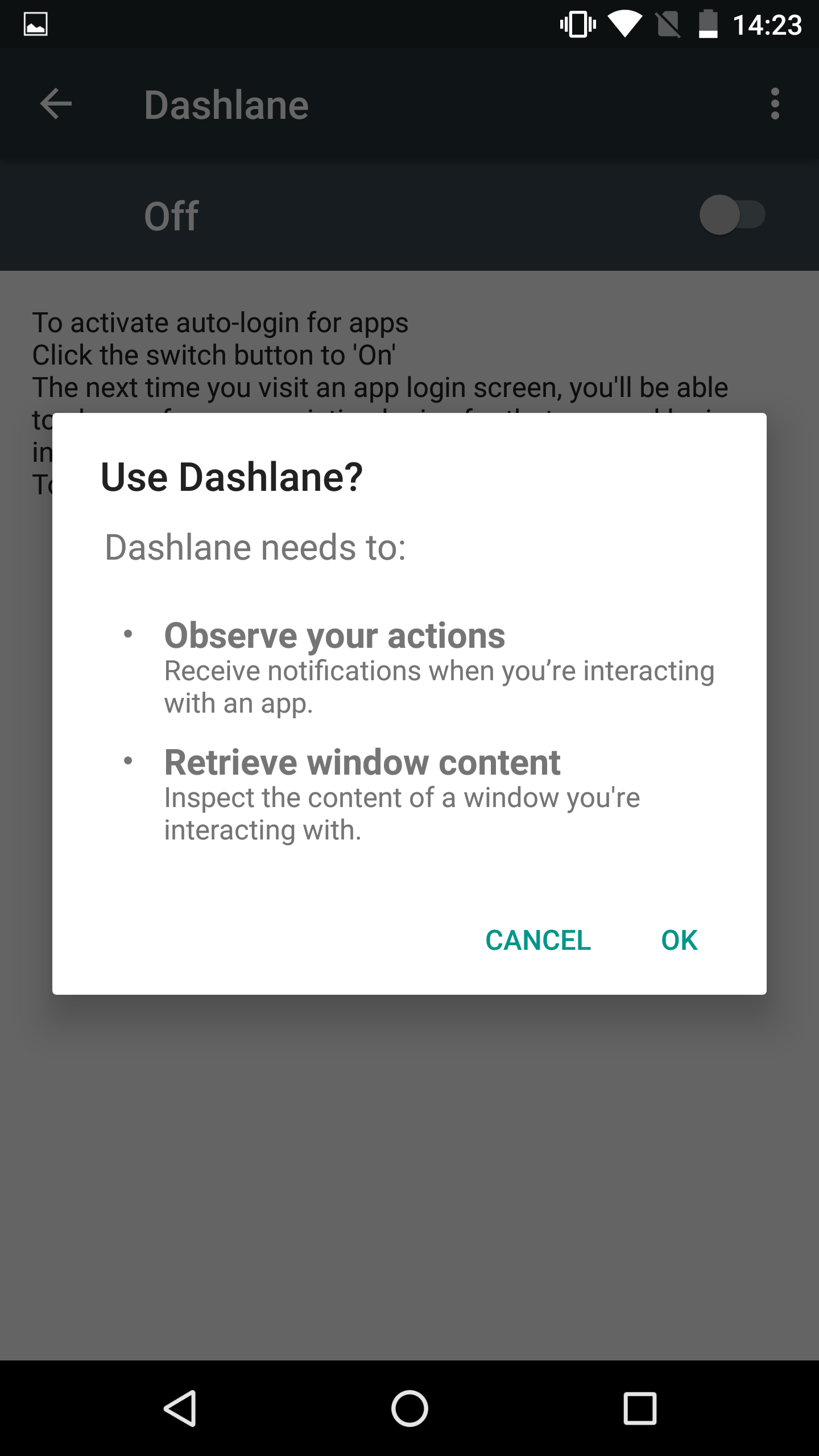 Autofill for Android apps and browsers – Dashlane