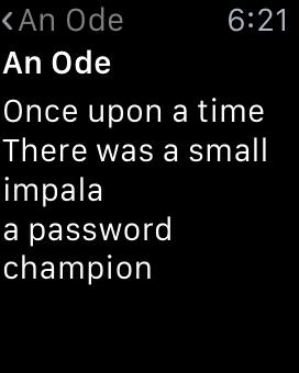 inside note
