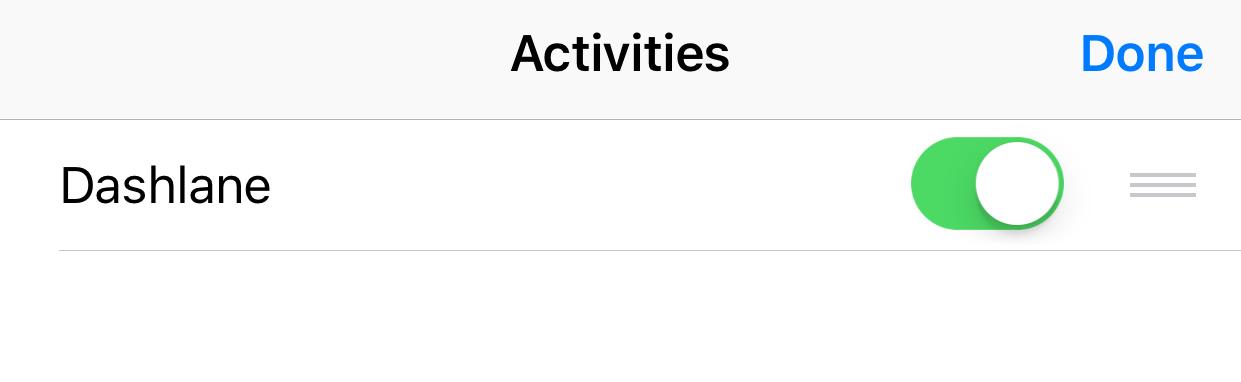 How to use Dashlane in iOS apps – Dashlane