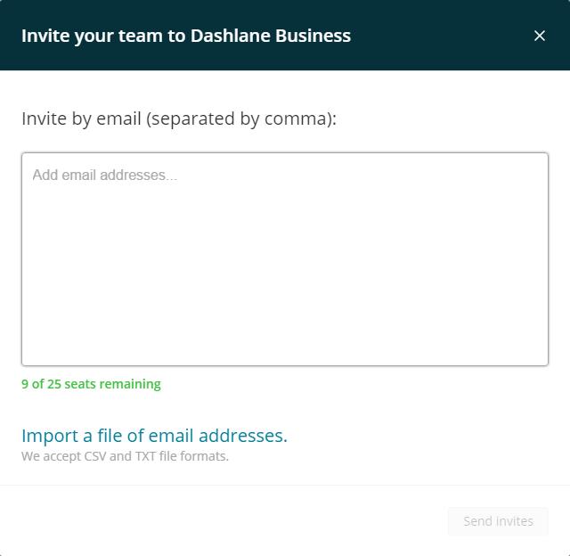 How to manage, add, and revoke users from Dashlane Business – Dashlane