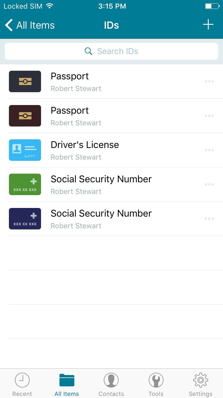 How to add logins, passwords, and data on iOS – Dashlane