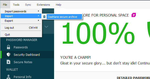how to delete dashlane account
